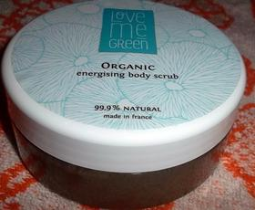 LOVE ME GREEN energising body scrub